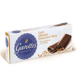 ~買二送一 贈品  ~Les Gavottes 樂緹•橙香黑巧克力法式薄餅