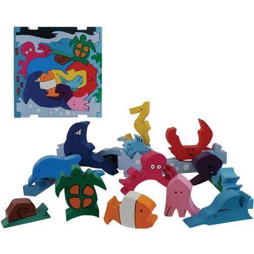 幼儿园海底世界手工 海底世界手工剪贴画 海底世界卡纸剪
