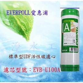 【淨水工廠】EVERPOLL愛惠浦公司貨一般標準型UDF顆粒活性碳濾心/活性碳濾芯EVB-U100A/EVBU100A