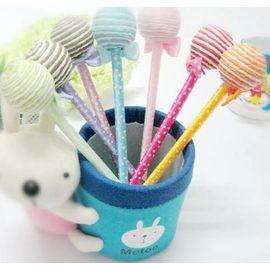 【花現幸福】☆超可愛糖果筆單支18元☆婚禮小物  送客禮 喜糖 小熊 紗袋