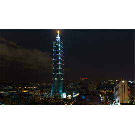 BD HD 影片素材:01231 P08Mrl~12a 跨年煙火秀   101大樓