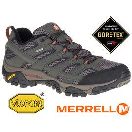 【鄉野情戶外專業】 Merrell |美國| Moab Mid GORE-TEX XCR 黃金鞋底中筒健行鞋 男款 _ML87313
