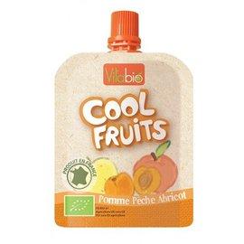 【安琪兒】法國【倍優babybio】VITABIO 有 機優鮮果-蘋果、蜜桃、杏桃90g(12個月以上)