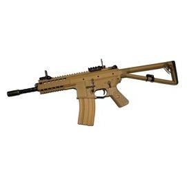 ~掠食者~ 製WE^(偉益^) GBB全金屬8吋 10吋 PDW 雙彈匣 全開膛 沙色卡賓