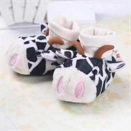 ★ 魔法Baby ★KUKI 酷奇立體造型超Q保暖學步鞋/嬰兒鞋~s4150