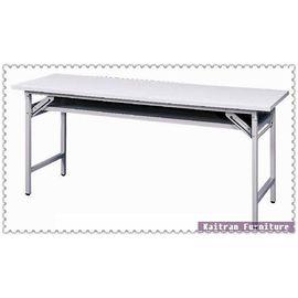 ~K158~13 直角白面會議桌~折合會議桌~摺疊會議桌~OA辦公桌