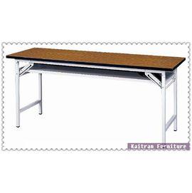 ~K158~17 直角木紋會議桌~折合會議桌~摺疊會議桌~OA辦公桌