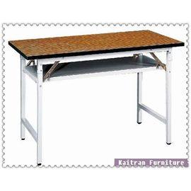 ~K158~03 直角木紋會議桌~折合會議桌~摺疊會議桌~OA辦公桌