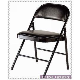 ~K450~11 黑皮橋牌椅~摺合椅~摺疊椅~折合椅~折疊椅~會議椅~辦公椅