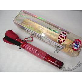 ~百有釣具~FUKUSHIMA 發售 超小繼隨身 軟絲四爪鉤  4爪鈎^~ 長300