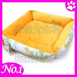 ~ IRIS.RPB~65和風棉麻雙面 用四季保暖窩~M號~ 15公斤 中小型犬貓睡床~點