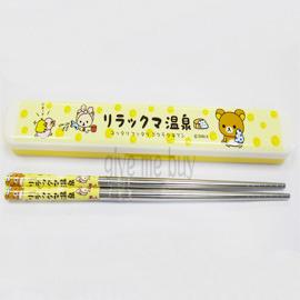 Give Me Buy~Rilakkuma 拉拉熊~ 不�袗�筷盒組^(米^) 製