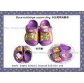 ☆☆CR011☆☆正品CROCS Dora Multistripe Custom Clog探險朵拉3.0小克駱格兒童涼鞋/沙灘鞋(C6-J3代購)