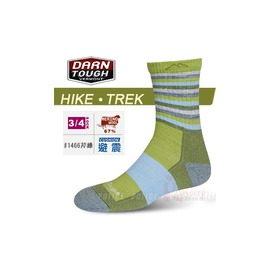 美國製 DARN TOUGH 美麗諾羊毛襪 Cusion徒步.健行襪 保暖襪 #1466芹菜綠色