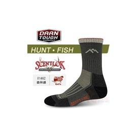 美國製 DARN TOUGH 美麗諾羊毛襪 打獵.釣魚襪 #1462森林綠