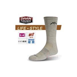 美國製 DARN TOUGH 美麗諾羊毛襪 旅遊.居家生活襪 #1474黃褐色
