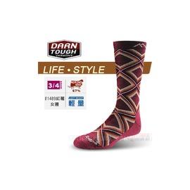 美國製 DARN TOUGH 美麗諾羊毛襪 旅遊.居家生活襪 #1489紅莓