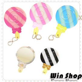 【winshop】棒棒糖造型美妝鏡/化妝鏡/隨身鏡,造型小巧可愛,方便隨身攜帶!