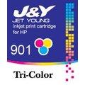 HP 環保墨水匣 901 彩色 CC656AA :J4580 J4624 J4660 J4