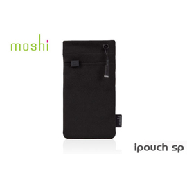 【A Shop】Moshi iPouch SP 超細纖維保護套-黑 For iPhone5/5C/5S/4s/touch5/S3系列