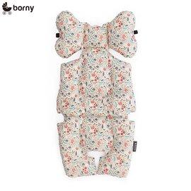 【安琪兒】韓國【 Borny 】 全身包覆墊(推車、汽座、搖椅適用) (小森林 有 機棉)