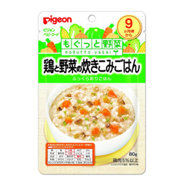 貝親 PIGEON 雞肉蔬菜炊飯調理包 (P13532)