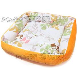 ~本IRIS.RPB~65和風棉麻雙面 用四季保暖窩~M號~ 中小型犬貓睡床.