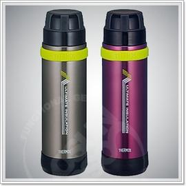 【膳魔師 THERMOS】公司貨 登山健行超級輕真空保溫瓶 800ml.保溫罐耐敲擊.不易變形.水壺 #FEK-800
