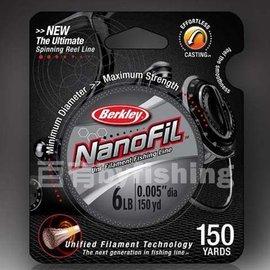 ◎百有釣具◎美國 BERKLEY NANOFIL 貝克力奈晶線 規格0.6號/1號/1.5號/2.5號 ~買就送剪刀一支