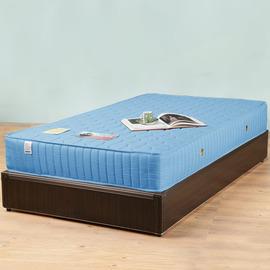 ~Homelike~麗緻3.5尺單人床台 獨立筒床墊 ^(胡桃 純白 柚木 白橡^)
