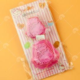 【艾佳】施理康Hello Kitty餅乾模/組