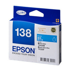 EPSON 墨水匣 T138250 藍色 No.138 ^( 有效期2016 01^)