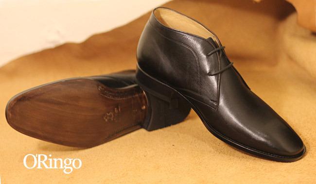棕色皮鞋绅士搭配