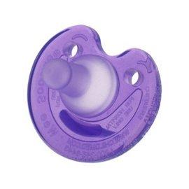 【紫貝殼】『KA09』美國原裝 Wee soothie 香草奶嘴.安撫奶嘴 (缺口型)(懷孕週數             ◎奶嘴為美國醫院專用的安撫奶嘴 ◎以仿照媽咪的乳頭模型製程 ◎香草奶嘴為矽膠材質,較軟,形狀為寶寶最愛的款式之ㄧ◎一體成型,可防止水分及細菌進入,容易清潔 ◎彎曲的形狀,可輕易看到寶寶的臉孔