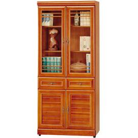 ~Homelike~樟木2.7尺中抽收納書櫃 置物櫃 收納櫃 展示櫃