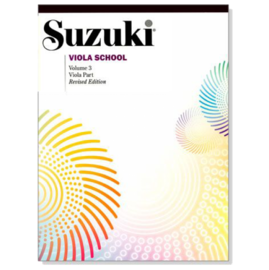 鈴木 中提琴教本~3 Suzuki Viola School Volume~3~Viola