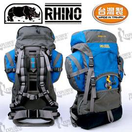 犀牛 RHINO 172  72公升易調系統背包多天數重裝高山登山背包附攻頂腰包