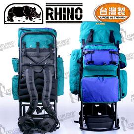 犀牛 RHINO 685  85公升豪華型大外架背包 鋁架背包 登山 重裝背包 背架