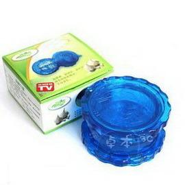 熱銷廚房必備品◆優質撚蒜泥器/磨蒜器/搗蒜器(藍)