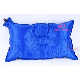 DJ7603自動充氣枕頭/充氣睡枕(附收納袋)人體工學不易滑動(凹槽款)