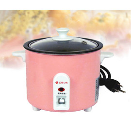 CIEVIE全世界最小電子鍋~超可愛粉紅雙人電子鍋