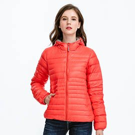 ~JORDON~ #437 女款 超輕高規95%羽絨連帽夾克 超低折扣