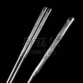 ~韓購網~韓國竹節圖扁筷湯匙組~不�袗�製~環保餐具~精緻非常 送禮