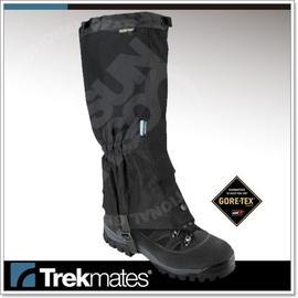 【英國 Trekmates】M's Gore-Tex 100%防水透氣耐磨長版綁腿.防撕裂格子布.腿套.登山.露營 STGT4-BB (非OR)