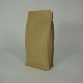 東尚公版袋K004 4oz牛皮紙平底袋Box Pouch^(平底^) 50個 盒^(沒有氣
