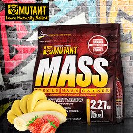 小包裝加拿大PVL Mutant Mass 高蛋白 惡魔專利熱量10項全能乳清蛋白 ~
