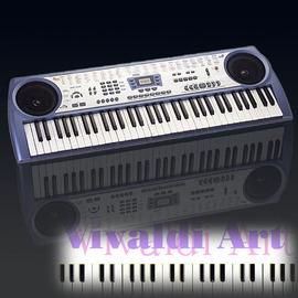 卡西歐和弦電子琴 松井格莉特700系列大66鍵教學VCD彩色樂譜麥克風伴唱 一年 CTK3