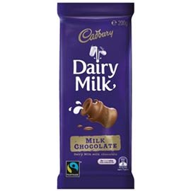 Cadbury 吉百利 牛奶巧克力200g