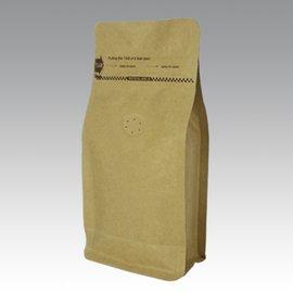東尚公版袋K004PZ V4oz牛皮紙口袋拉鍊平底袋Box Pouch Pocket Zi