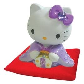 HELLO KITTY 開運擺飾~紫 R0880